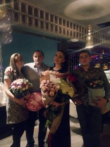 "Ilona Kesaeva: ""I celebrated my birthday with friends, sisters and brothers, my colleagues"""
