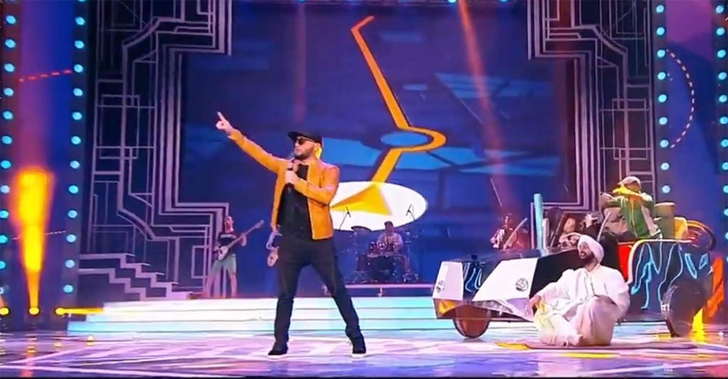 """Sultan-Uragan with the hit """"Ponaheli"""" in the sports complex """"Olympic""""!"""