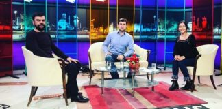 "Azamat Bishtov on the Turkish TV channel ""KAMPUS"""