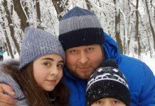 Дибир Абаев любит активный зимний отдых