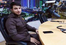 Иса Эсамбаев в прямом эфире радиостанции «Грозный»