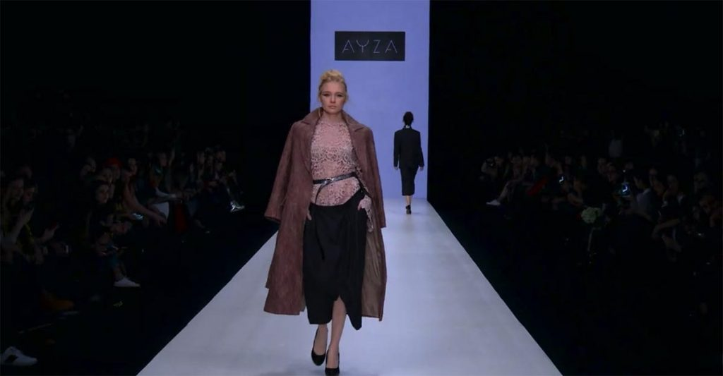 "The music of Zagir Satyrova amazingly complemented the show of the collection ""AYZA"""