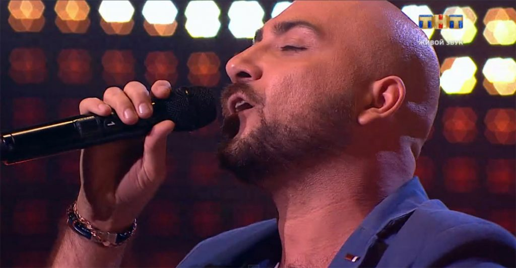 "Arthur Matsakyan presented his track ""Two Souls"" at the talent show ""Songs"""