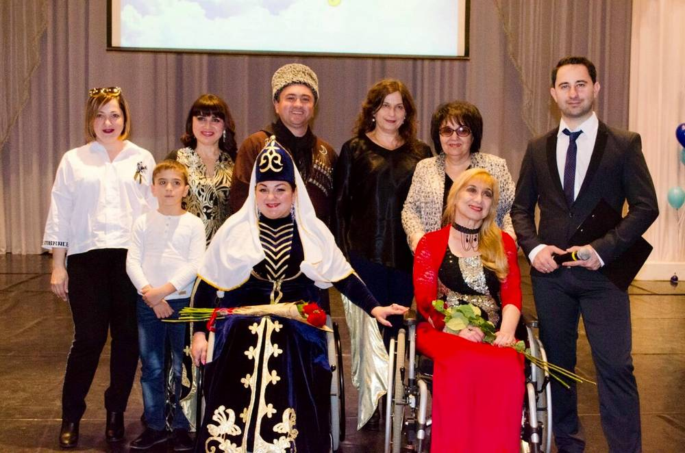 "Participants of the concert ""The world in which I live"", held on 2 on April 2018, at the State Philharmonic of Adygea"
