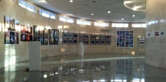 In the historical museum of the city of Makhachkala, an exhibition of works by contemporary artists
