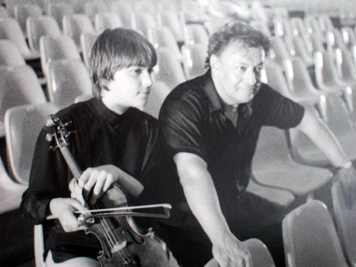Дэвид Гаррет с Зубином Мехтой. Фото предоставлено сайтом https://www.david-garrett.com