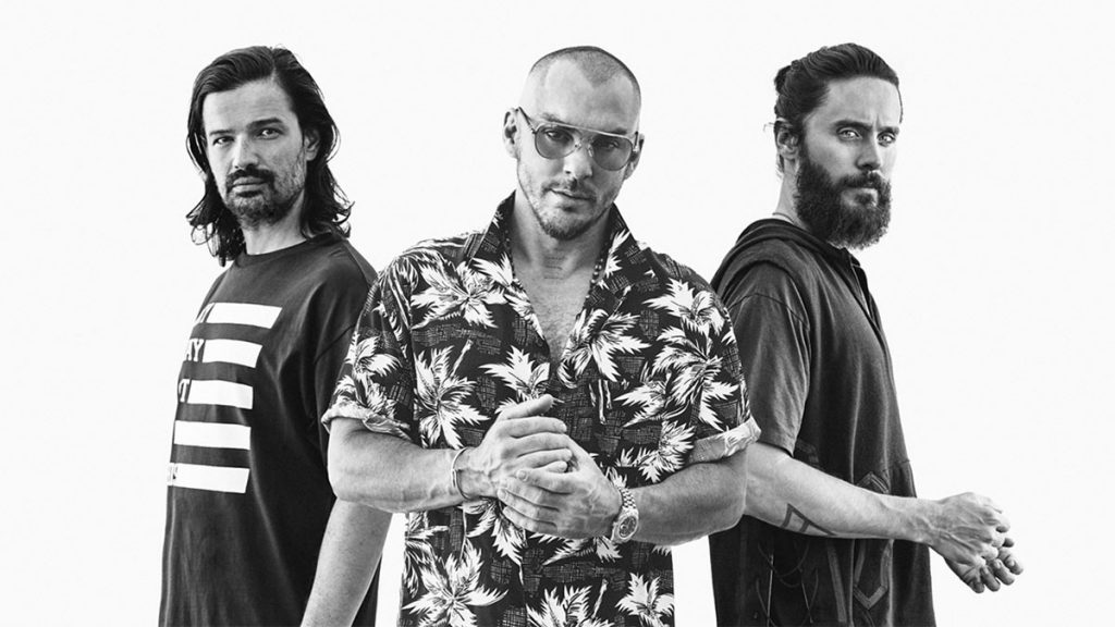 """Group """"Thirty Seconds to Mars"""""""