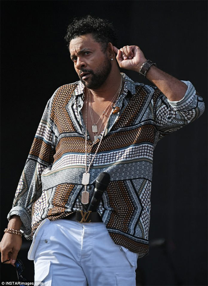 "The premiere of the album ""44 / 876"". Shaggy. Photo courtesy of www.dailymail.co.uk"