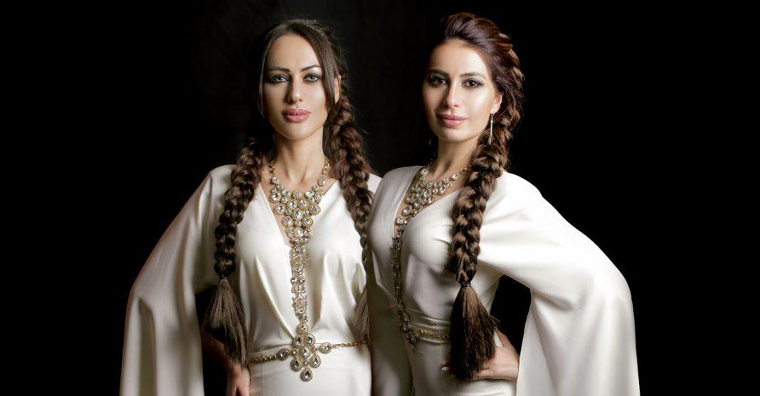 Ruslana Sobieva and Zarina Bugaeva in Tskhinval