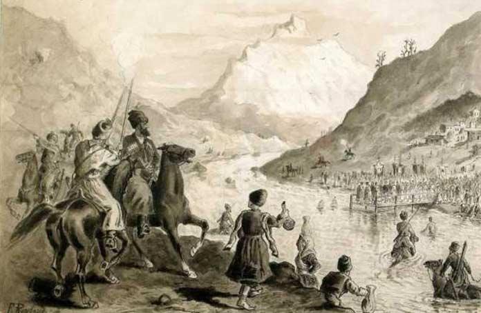 Кавказская война, источник: www.liveinternet.ru