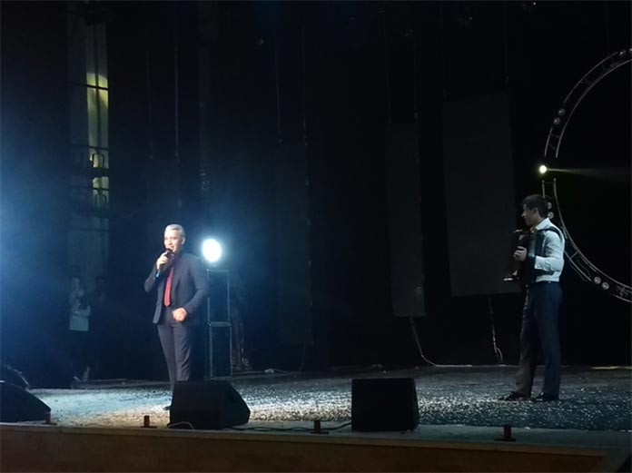 """Alim Teppeev presents his new composition to the audience - """"Baskhan Tara, Holam, Chegem, Byzyngy"""""""