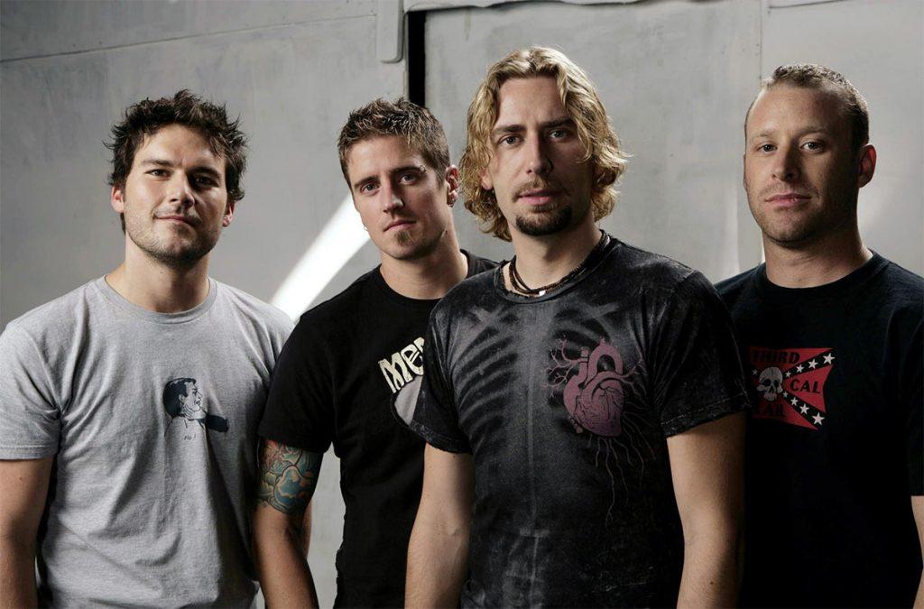 "Группа ""Nickelback"" Фото с сайта http://verousek-soty.blog.cz"