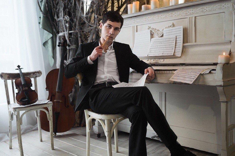 Автор симфонии «Минги-Тау» выпускник нальчикской консерватории Ахмат Малкандуев