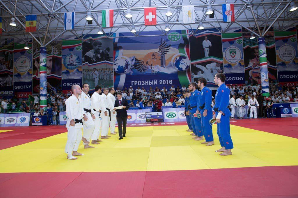 Клубный Чемпионат России по дзюдо, г. Грозный, 2016 год. Источник: https://judo.ru/