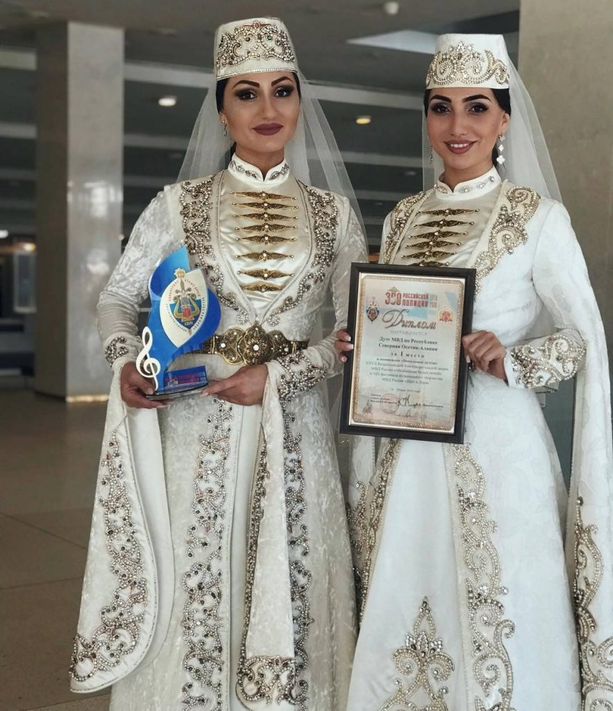 Albina and Fati Tsarikayev were recognized as the best vocal duet of the Ministry of Internal Affairs