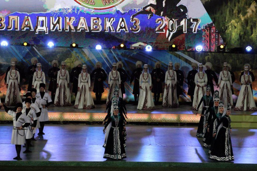 VIII Фестиваль культуры и спорта народов Кавказа 2017 года во Владикавказе. Фото представлены сайтом http://vladikavkaz-osetia.ru/
