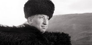 The great Dagestan poet Rasul Gamzatov