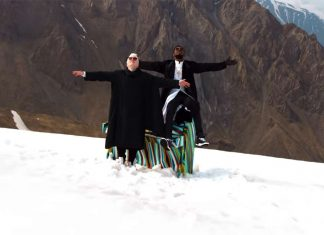 Исполнители из Нигерии и Грузии сняли клип в горах Кавказа