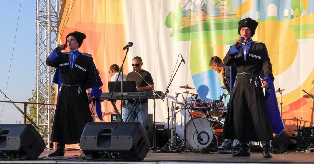 Cossack rock festival was held in Stavropol