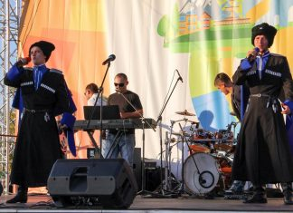 Казачий рок-фестиваль прошел в Ставрополе