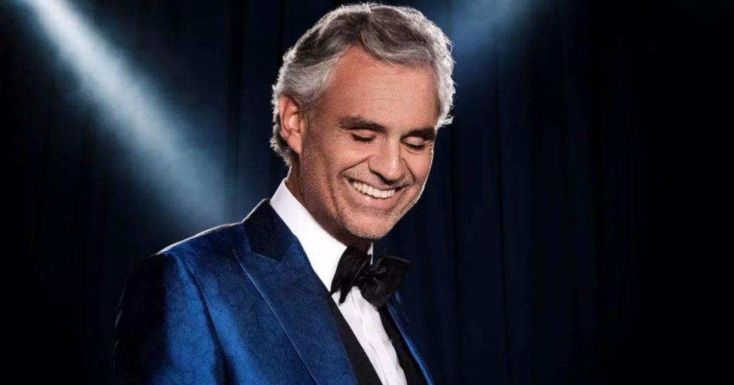 Andrea Bocelli has released a new album