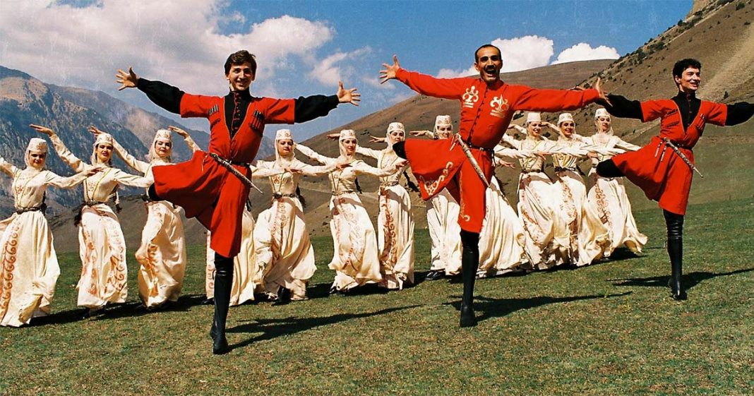 Фольклор Северной Осетии - Алании