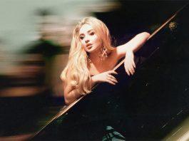 "Sabrina Carpenter presents the album ""Singular Act I"""