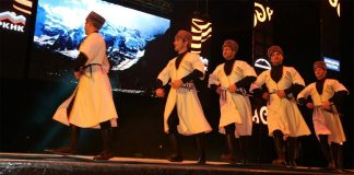 Albina and Fati Tsarikayevs took part in the Moscow Festival of Culture of the Peoples of the Caucasus