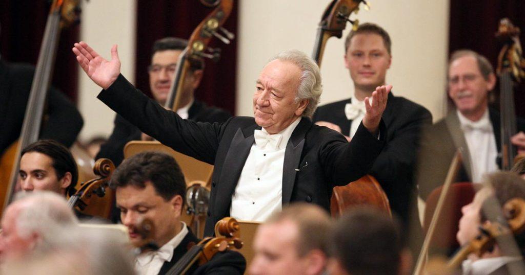 Юрий Темирканов отмечает 80-летний юбилей. Фото: http://settimane-musicali.ch