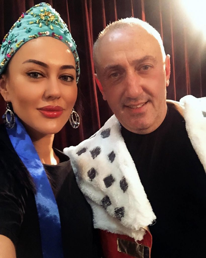 Ruslana Sobiev (Queen) and Elberd Agayev (King)