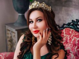 Amirina is working on a new track by Reysan Magomedkerimov