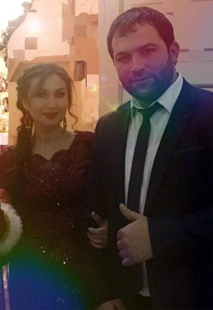 Amirina and Reysan Magomedkerimov