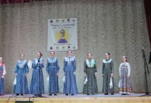 The annual music contest is held in Stavropol