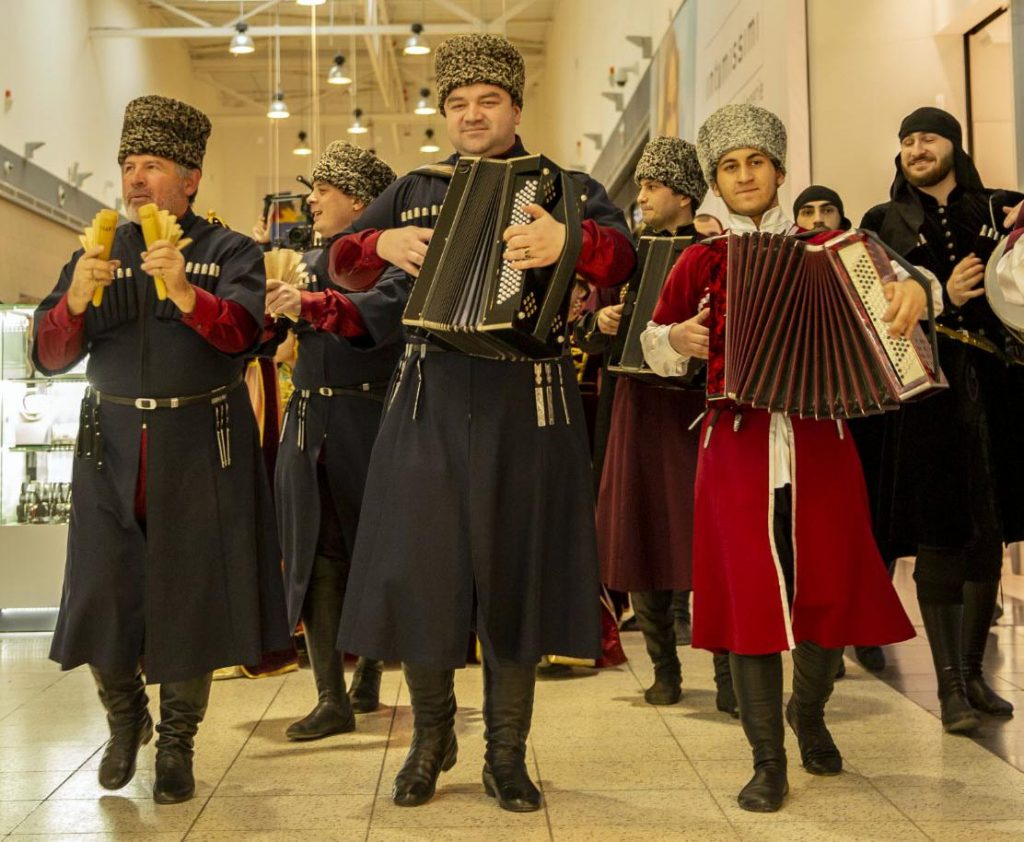 "The festival of the Adyghe culture became a real holiday, which covered the entire shopping center ""MEGA Adygea-Kuban"""