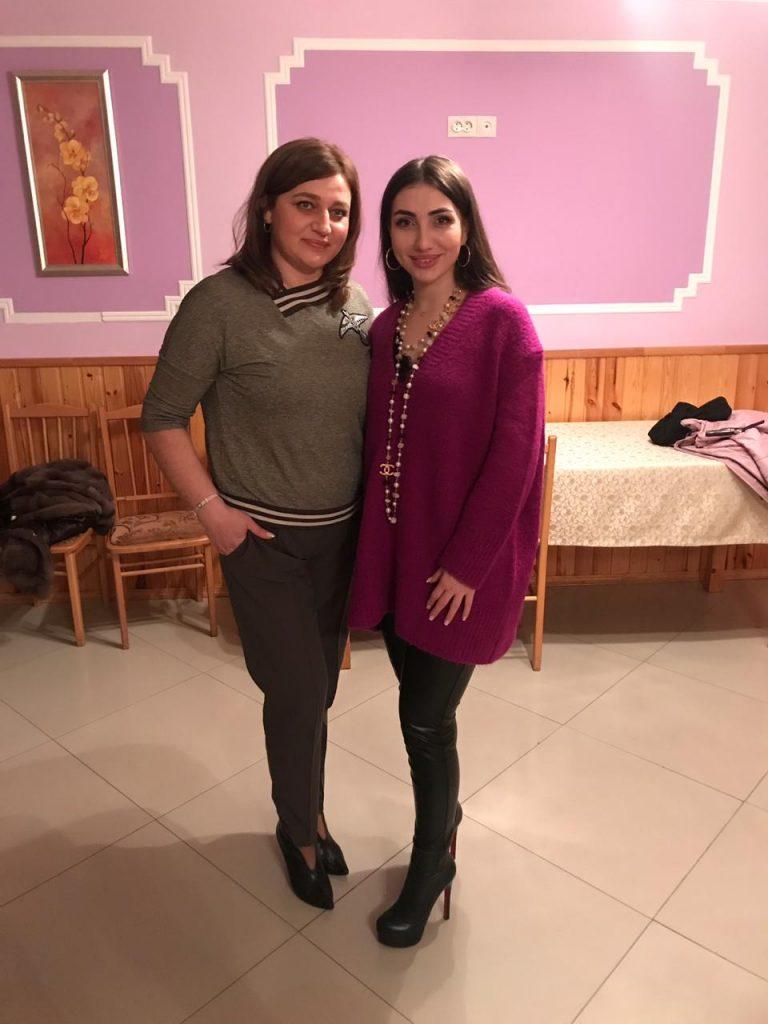 Linda Kumaritova and Fati Tsarikayeva