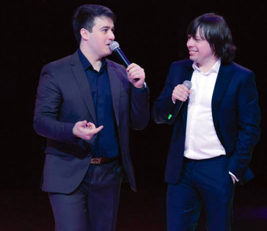 Aidamir Mugu and Ahra gave a joint performance in Yakutsk