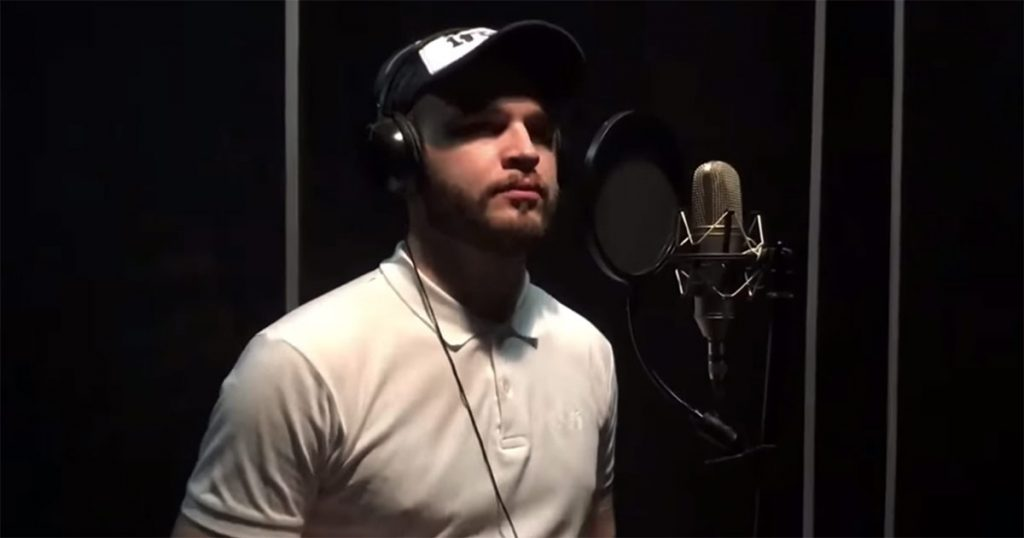 """Islam Dzhambekov's song """"The lights go out in the city"""" was released. Photo from the recording studio """"RR PROJECT"""""""