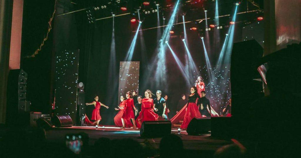 A huge merit in the success of the concert belongs to the talented guys choreographer Zarina Karaeva