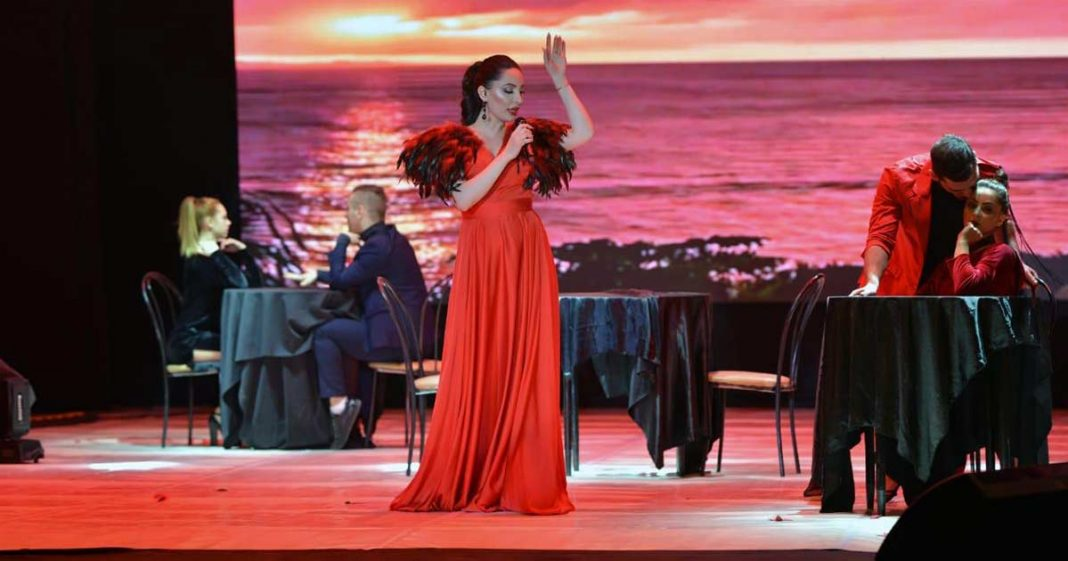 In the beginning of March in Vladikavkaz a solo concert of the popular Ossetian singer Ilona Kesayeva took place.