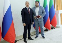 "July 26 Dibir Abaev's popular Dagestan performer @dibir_abaev was awarded the honorary title ""Honored Artist of the Republic of Dagestan"" by decree of the Head of the Republic of Dagestan Vladimir Vasiliev"