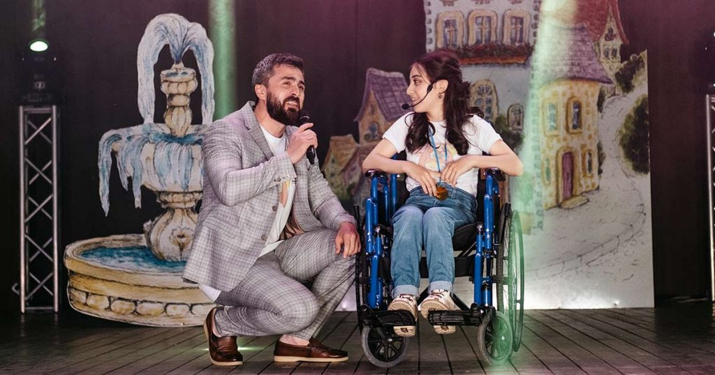 """For the sixth year in a row, on his birthday, Azamat Tsavkilov organizes a charity concert """"From Heart to Heart"""" in Nalchik, designed to help people in difficult situations"""