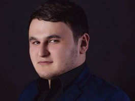 "The official page of Rustam Nakhushev on the site ""Sound-M"""