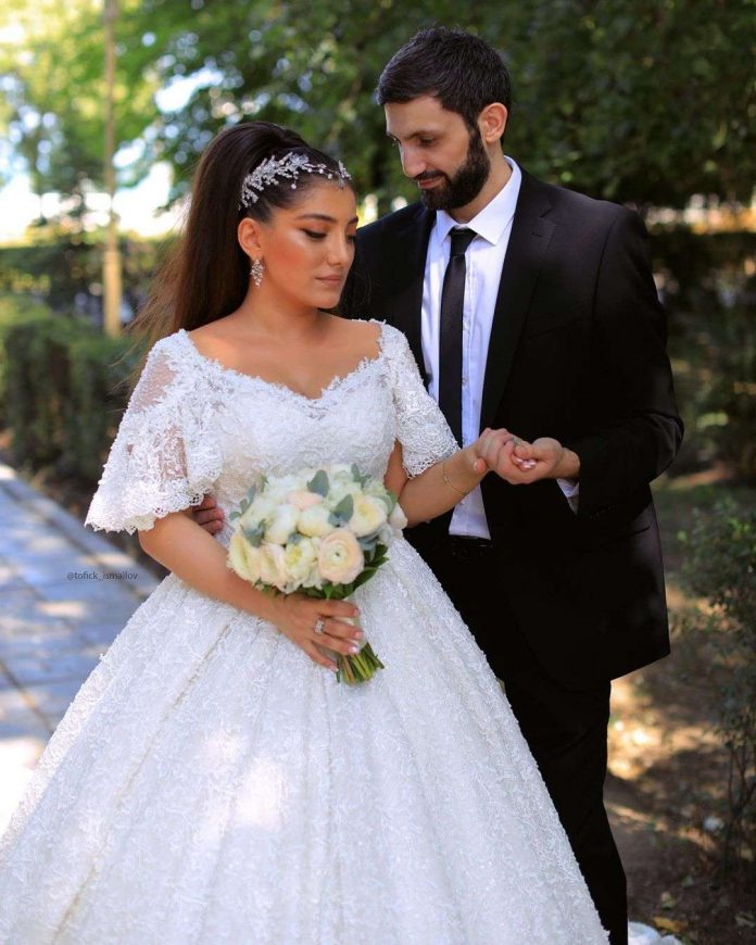 19 of August 2019 of the year, Makhachkala. The wedding of Magomed Alikperov and his charming darling Diana