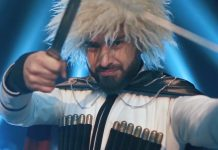 "A teaser for Shamkhan's video ""Dance the Dzhigit"""