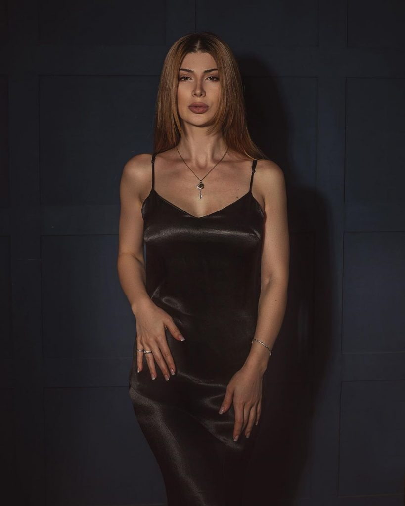 "Olga Baskaeva introduced the new song ""In Love"""