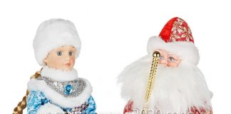 Figurine Santa Claus and the Snow Maiden 1490 rub. ⠀ Figurine Santa Claus and the Snow Maiden 990 rub. ⠀ S ...