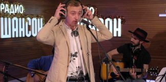 "Gosha Grachevsky performed a new live track ""Radio Chanson"""