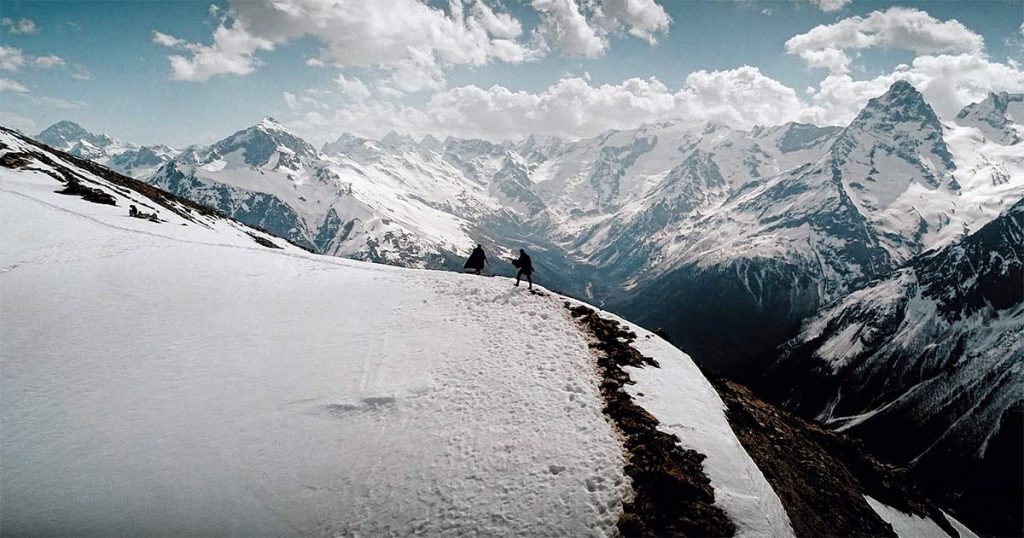 "The video clip ""Ne Dahe"" was shot in the beautiful mountains of Karachay-Cherkessia"