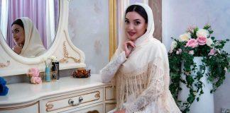 The wedding of Alika Bogatyreva and Albert Shamanov took place on January 30 in Cherkessk
