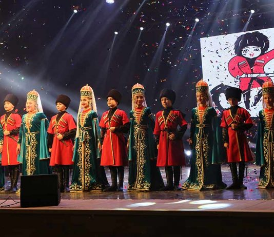 "A video version of the concert of the ensemble ""Naltsuk"" in Nalchik"